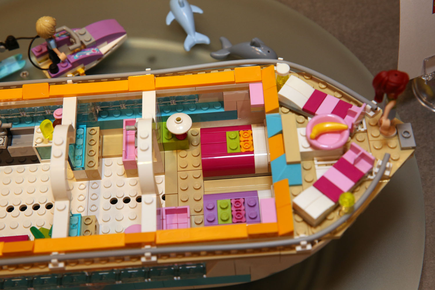 Lego Friends 41015 Dolphin Cruiser 0 Pictures To Pin On
